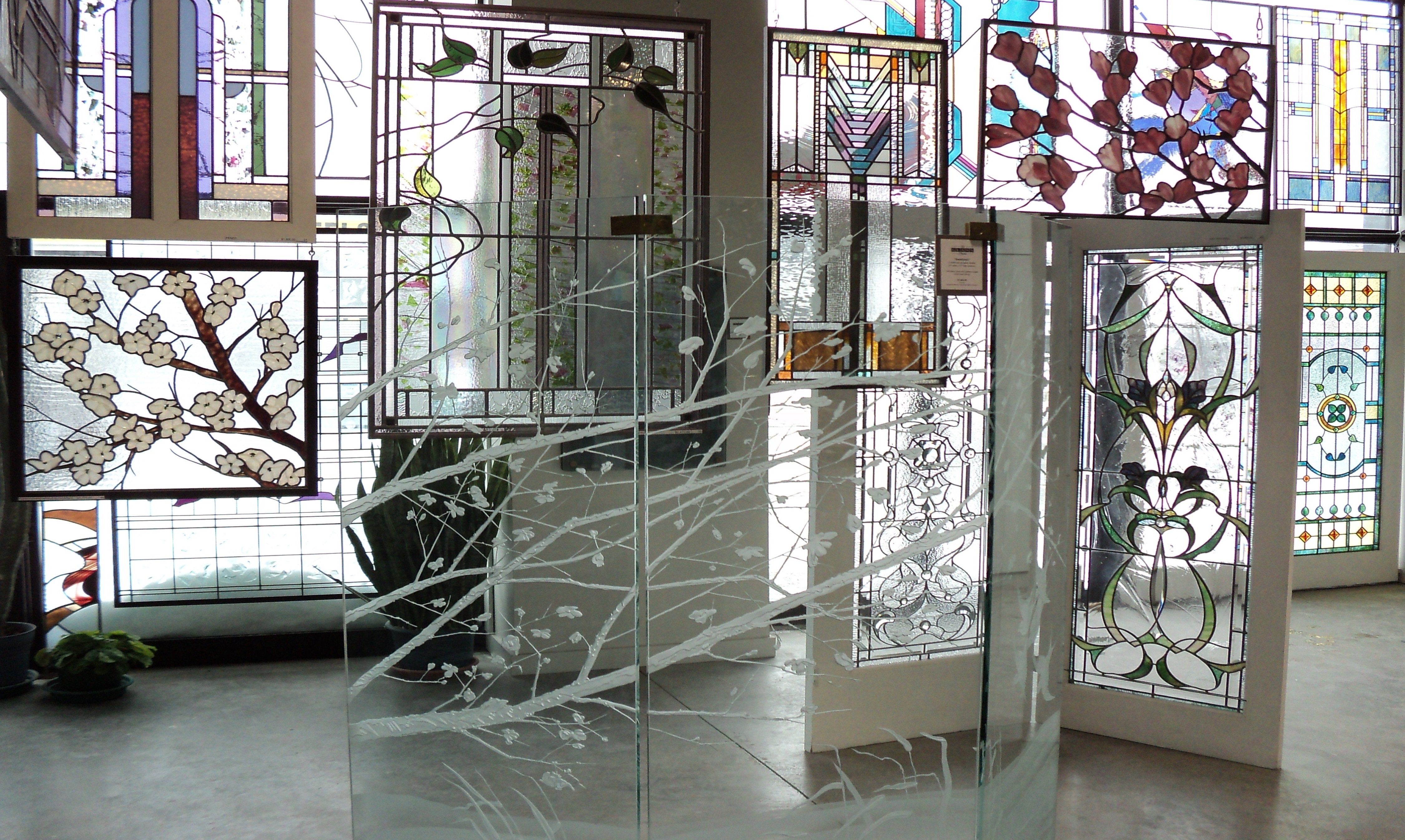 The Glass Studio Toronto custom stained glass